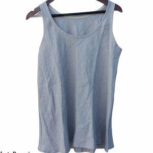 Go Lightly linen tank top size 1